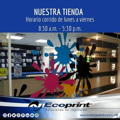 Te esperamos en nuestra tienda! #ecoprint #cartuchos #imprime #color #negro #impresora #tinta #tóner #rendimiento #imagen #papel #calidad #economía #ecología #tecnología #compatible #genérico #impresión #venezuela  #islamargarita #islademargarita