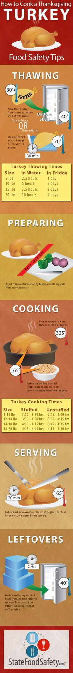 How to Cook a Thanksgiving Turkey, because we will  NOT be having food poisoning my first Thanksgiving!