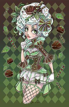 Mint Chocolate by NoFlutter.deviantart.com on @DeviantArt
