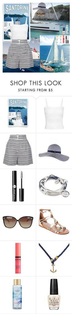 """Journey On A Yacht⛵️"" by oksana-kolesnyk ❤ liked on Polyvore featuring Dolce&Gabbana, Black, Charlotte Russe, Lizzy James, Linda Farrow, Steve Madden, NYX, Victoria's Secret and OPI"