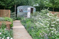 All I need a garden and a place lay my head.  Chelsea Flower Show