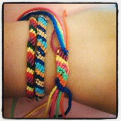 homemade bracelet