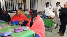 Khayelitsha hospital staff donated blankets to the NOAH Social Club for the Elderly in Khayelitsha, Cape Town. All in honour of the International Mandela Day.