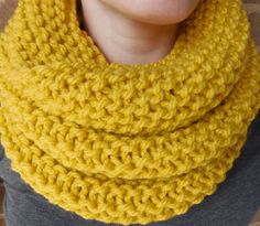 I want a Mustard Yellow Knit Infinity Scarf this winter Handmade Scarves, Mustard Yellow, Hand Knitting, Knit Crochet, My Etsy Shop, My Style, Knits, Cowl, Crocheting