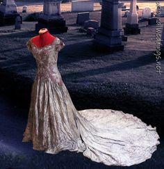Gothic Ghost Bride Gown #weddingideas