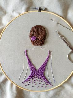 Latest Pictures simple Embroidery Patterns Suggestions You have realized all of the simple with sewing, obtained online bathing room courses as well as palm embroid Creative Embroidery, Simple Embroidery, Learn Embroidery, Silk Ribbon Embroidery, Embroidery Hoop Art, Embroidery Saree, Indian Embroidery, Embroidery Ideas, Hand Embroidery Design Patterns