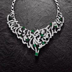 Diamond and Emerald Passion Maha Al Sibai jewellery @ Wafi Mall, Dubai
