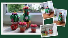 Genäher Kaktus... Nadelkissen :)