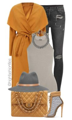 """Day Time"" by highfashionfiles on Polyvore featuring Ksubi, Rick Owens, Chanel, Yves Saint Laurent and rag & bone"