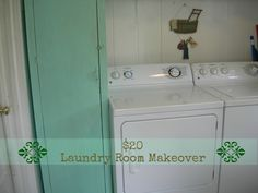 The $20 Laundry Room Makeover