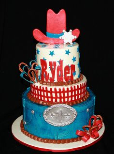 Cowboy cake. Wish I could do something like this!!