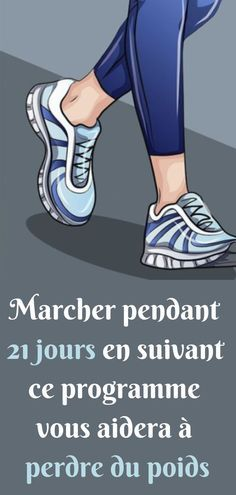 Marcher pendant 21 jours en suivant ce programme vous aidera à perdre du poids - Esprit & Santé Most people mistakenly think that heavy exercise and a strict diet are necessary to lose weight. Fitness Nutrition, Yoga Fitness, Walking Exercise, Ga In, Carb Cycling, Sport Photography, 30 Day Challenge, 21 Days, Jogging