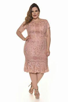 Plus Size Women Dresses Light Pink Casual Dress, Casual Dresses, Fashion Dresses, Plus Size Girls, Plus Size Women, Plus Size Dresses, Plus Size Outfits, Big Size Dress, Plus Size Formal