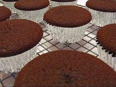 Betty's Dark Chocolate Cupcakes--for Valentine's Day!