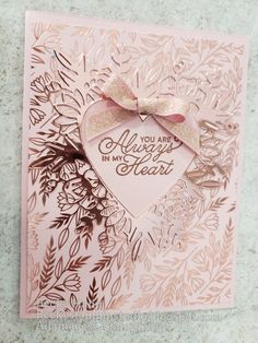 Valentine Love Cards, Valentines Diy, Wedding Anniversary Cards, Wedding Cards, Beautiful Handmade Cards, Stamping Up Cards, Heart Cards, Sympathy Cards, Paper Cards