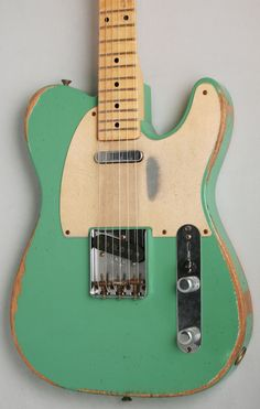 Fender Custom Shop Limited Edition '59 Telecaster Heavy Relic (Celadon Green)