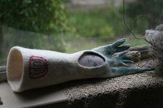 Fibre sculpture girl with a green forest hood by erinswindow Fiber, Window, Sculpture, Green, Etsy, Low Fiber Foods, Windows, Sculptures, Sculpting