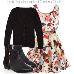 Teen Wolf - Lydia Martin Inspired Cinema Outfit by staystronng on Polyvore featuring polyvore, fashion, style, Oasis, LydiaMartin, tw and cinema