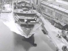 Tewaterlating van de Willem Ruys   1 juni 1946