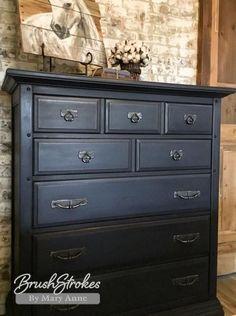 Dresser In Annie Sloan Chalk Paint Napoleonic Blue Quot I