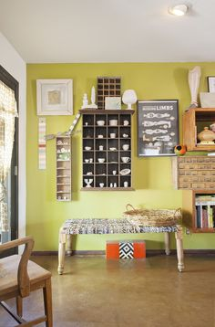 Bright and full of art and one-of-a-kind features and decor, this home tour is sure to inspire and spur a desire to add some color into your life and home. Be bold and have fun!