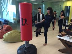 We Are Having Fun While Learning How To Defense Ourselves! Self Defense  Session Every Tuesday. Punching BagSelf ...