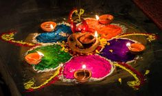 5-day long festival celebrated across the country which primarily signifies the celestial bond between human and animals together with the reverence of deities #tihar #festival #nepal
