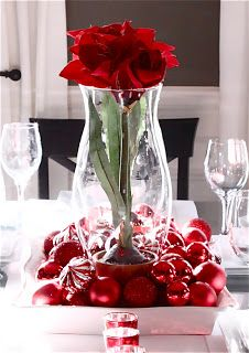 setting a valentine's day table