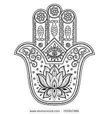 Image result for drawing henna hamsa