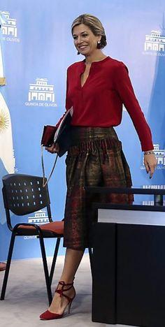 Queen Maxima in Argentinië oktober 2016