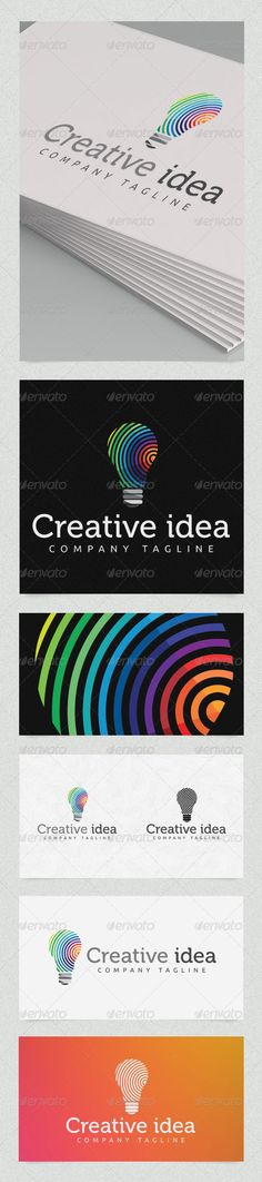 Creative Idea #GraphicRiver Creative Idea – Logo Template Features Elegant and modern Logo Template which is 100% customizable and resizable. Made in – Ai and EPS. This logo template can be used for websites, stationery, clothes, etc. Logo is made with vectors for easy resizing and customizing – all texts can be rewritten even You can change the font or color. Changing all colors is as easy as one click to fill color in color palette. Creative Idea – Logo Template – ZIP includes Excellent…