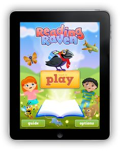 Reading Raven For iPad Recommended Ages: 3-7 Reading, Phonics, Letters, Spelling, Writing, Vocabulary, Early Learning, Special Needs ✔ Self-paced lessons from pre-reading to reading sentences! ✔ 11 types of fun games/activities that teach critical sub-skills! ✔ Fully customizable by age or reading level! ✔ Speed & tolerance adapt to motor control ability! ✔ Sticker rewards reinforce what was learned ✔ voice instructions & feedback! ✔ Free form letter & word writing