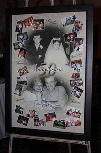 homemade 60th wedding anniversary decorations | Images of Fun 50th Wedding Anniversary Party Ideas