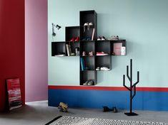 """Aufbewahrungstyp """"enthusiastisch"""": Como Regal. #boconcept #storage #scandinaviandesign #ineriordesign #interior"""
