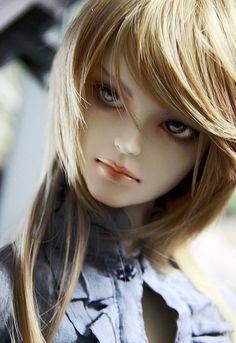 pretty male doll