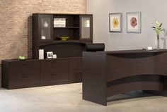 Complete your office setup with the Bush Business Furniture Series C Elite x L-Shaped Reception Desk with Storage.