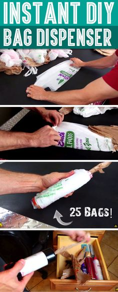 He Rolls The Plastic Bag's End And What Happens Next Will Leave You Breathless