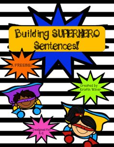This freebie can be used to introduce your kiddos to complete and incomplete sentences. The file includes cards that can be sorted whole group, small group or individually. It also includes an independent complete/incomplete sentence practice cut and sort.The complete unit is available for purchase-Superhero Sentences!I hope you and your students enjoy this freebie!