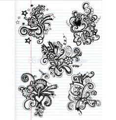 doodle tattoo idea