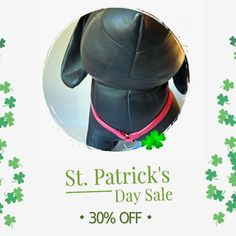 30% OFF on select products. Hurry, sale ending soon!  Check out our discounted products now: https://www.etsy.com/shop/katiesk9kollars?utm_source=Pinterest&utm_medium=Orangetwig_Marketing&utm_campaign=St%20Pat's%20Day