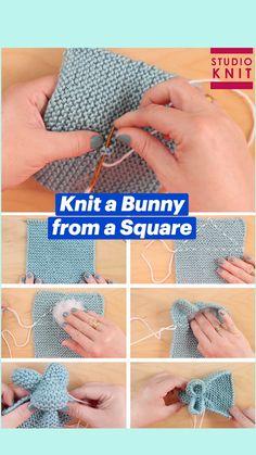 Knitting For Beginners, Easy Knitting, Knitting Stitches, Animal Knitting Patterns, Crochet Patterns, Knitting Projects, Crochet Projects, Crochet Ripple, Crochet Designs