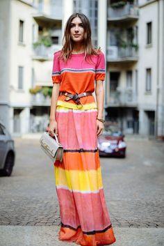 Abito lungo anche di giorno... #longdress #dress http://ritacandida.com/2017/06/29/abito-lungo-come-abbinarlo-di-giorno/
