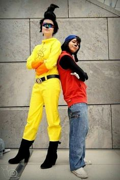Max Goof and Powerline cosplay
