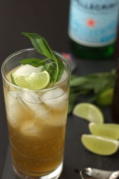 Ginger Mint Syrup | my kitchen addiction
