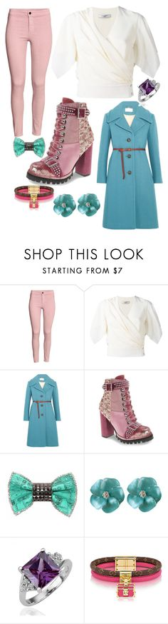 """""""Truth or Dare; Holly"""" by hannah-graves ❤ liked on Polyvore featuring H&M, Lanvin, Chloé, Jeffrey Campbell and Bijoux de Famille"""