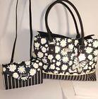 ❦‡ #Nwt #BETSEY JOHNSON Daisy stripe TOTE &+Crossbody  #wallet clutch handba... Be http://j.mp/2o4E1MD