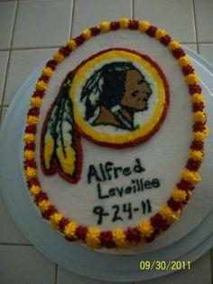 Redskins Cake HTTR!