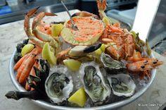 Sea Me seafood platter, Lisbon, Portugal