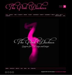 Welcome to our NEW website.  Come see what's new at The Pink Duchess   www.thepinkduchess.com