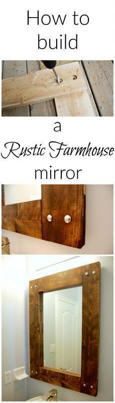die besten 25 palettenspiegelrahmen ideen auf pinterest paletten spiegel diy. Black Bedroom Furniture Sets. Home Design Ideas